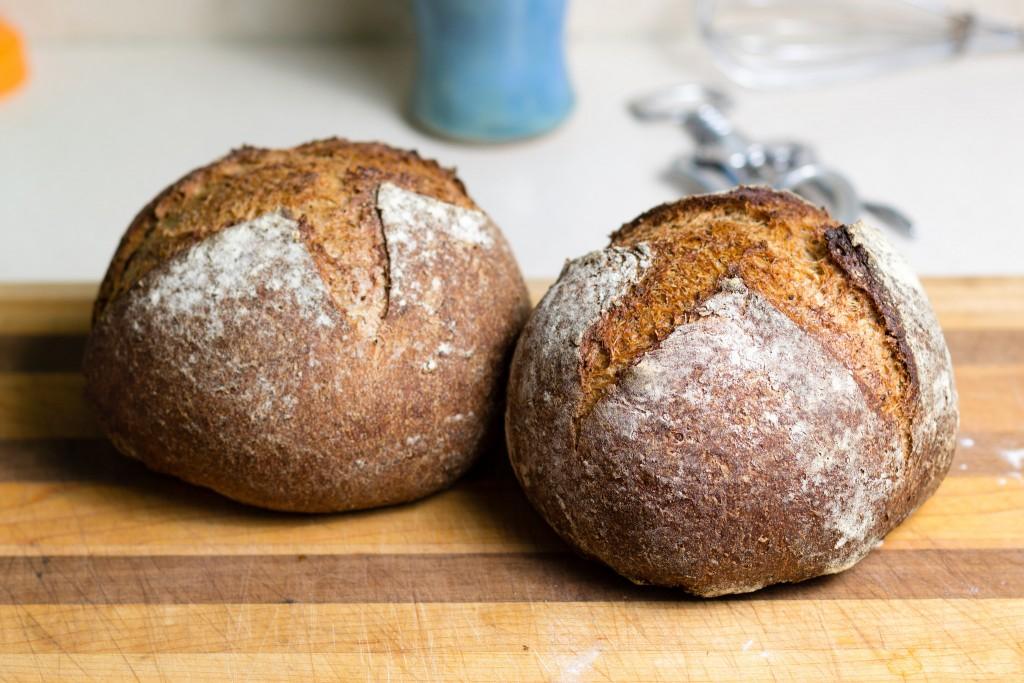spelt rye bread small valley milling